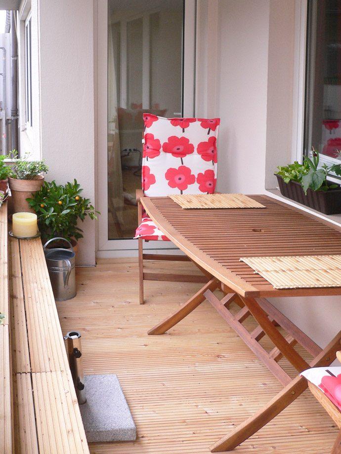 Holzboden Balkon |